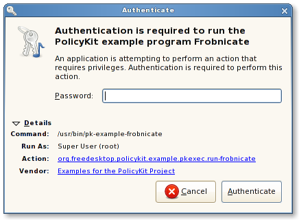 Managing Authorisation and Authentication UIs in a Wayland-Based