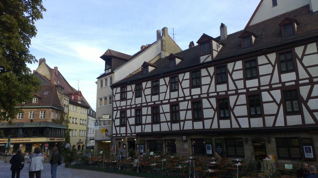 Nuremberg's traditional houses