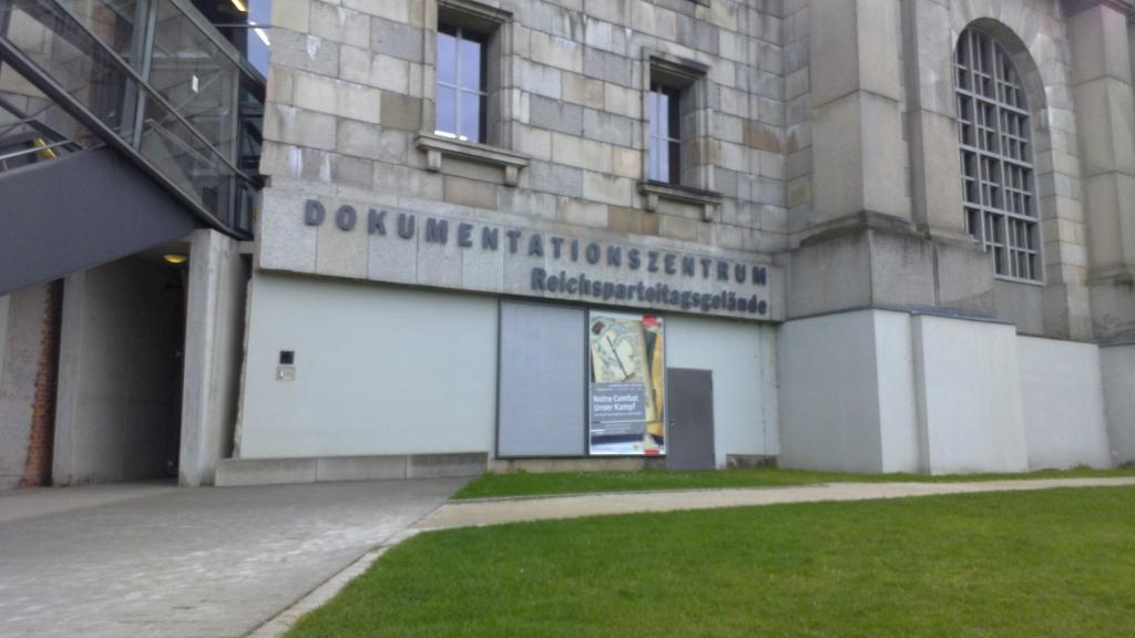 Dokumentationszentrum : The museum dedicated to the Nazi's history and their relation with this city