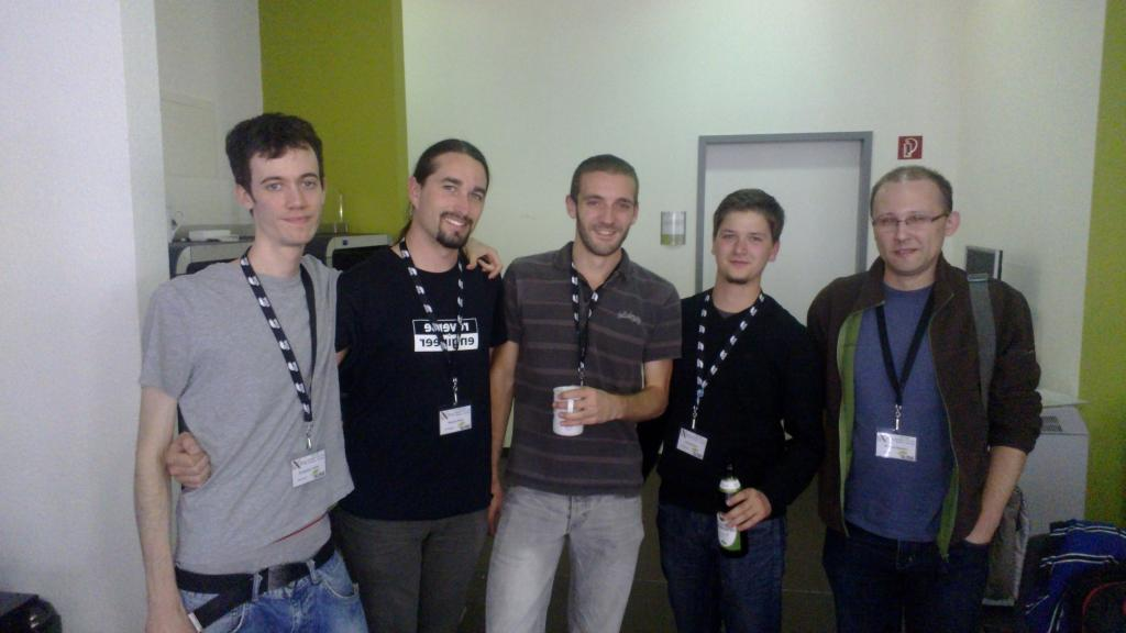 Some of the Nouveau devs at XDC